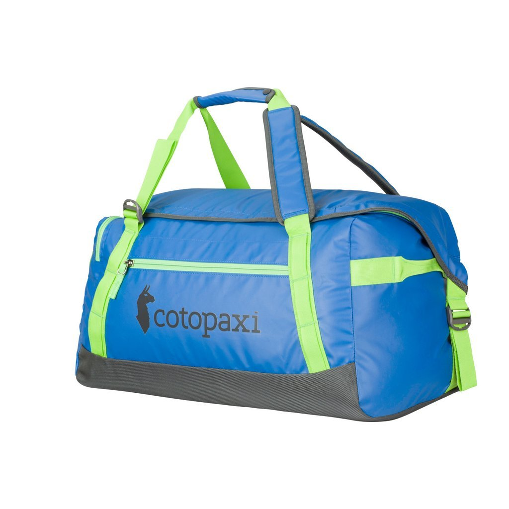 Cotopaxi Roca TPU Coated Duffel Bag for Hard Use Adventure Travel 70L