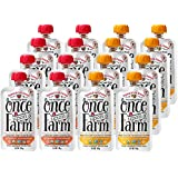 Once Upon a Farm Organic, Cold Pressed,Refrigerated Stage 3 Baby Food, Variety Pack, for 9+ Month, 3.2 Ounce (Pack of 16)