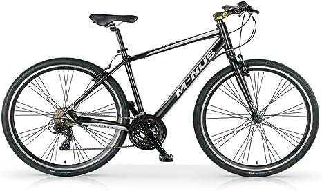 MBM - M-NUS - Bicicleta ciudad 28 21s - Negro - Hombre: Amazon ...