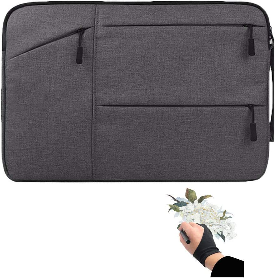 8192 Navitech Black Graphics Tablet Case//Bag Compatible with The HUION INSPIROY H640P