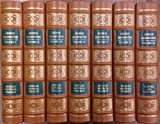 img - for George Washington, A Biography, 7 Volume Set. (Collector's Edition Bound in Genuine Leather) book / textbook / text book