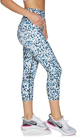 Rockwear Activewear Women's 7/8 Print Tight from Size 4-18 for 7/8 Length High Bottoms Leggings + Yoga Pants+ Yoga Tights