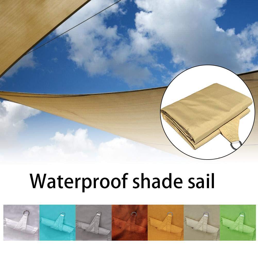 2 x 2 x 2 m Gelb L/â Vestmon Sails Garden Gazebo Tenda da Sole Impermeabile Protezione UV 98 Triangolare