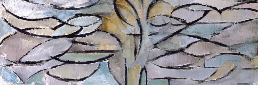 1art1 Piet Mondrian Poster Art Print - The Flowering Apple Tree, 1912 (36 x 12 inches)