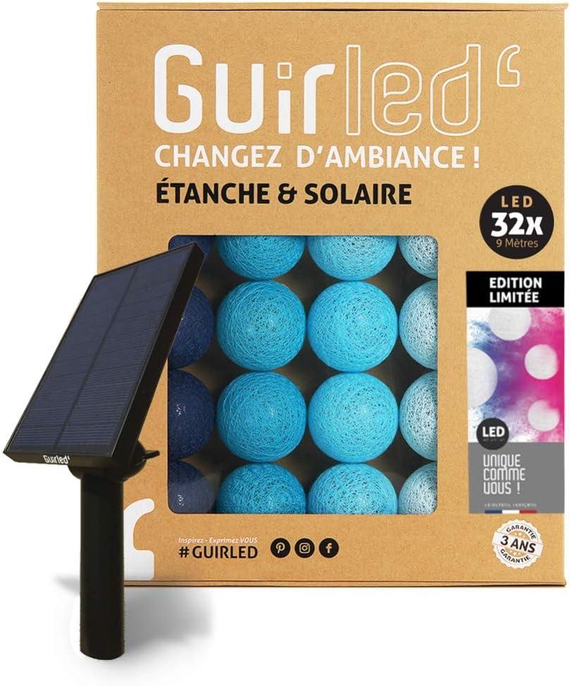 ON//OFF automatique Guirlande dext/érieur boules lumineuses LED /Étanche IP65 Panneau solaire haut rendement Nouveau mod/èle Altitude 16 boules