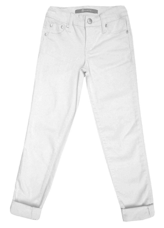 Tractr High-Waist Skinny Crop Denim Women's Jeans