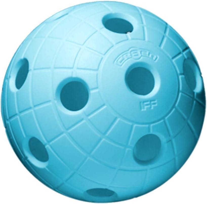 con certificato IFF per qualit/à testata Floorball Unihockey CR8ER Set di 6 palloni da calcio da competizione