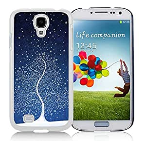 Diy Design Samsung S4 TPU Protective Skin Cover Art Samsung S4 TPU Protective Skin Cover Christmas Tree White Samsung Galaxy S4 i9500 Case 4