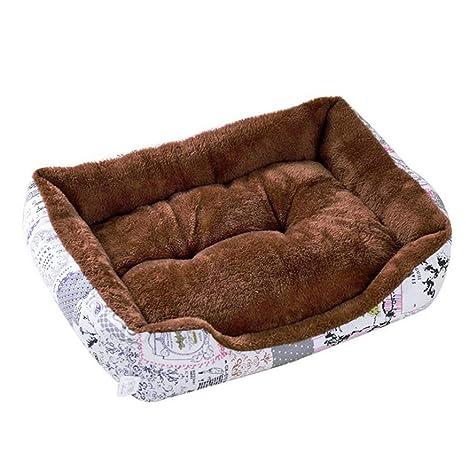 Haobing Rectángulo Sofá para Mascotas Lavable Fleece ...
