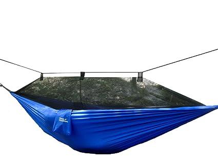 mosquito   hammock   extra strong ripstop nylon camping hammock   reversible  pact lightweight amazon    mosquito   hammock   extra strong ripstop nylon      rh   amazon