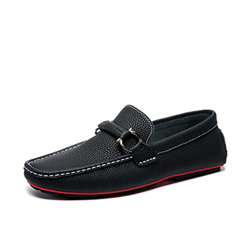 Men's Classic Casual Loafers - Driving Moccasins Soft Slip On Shoes 65020