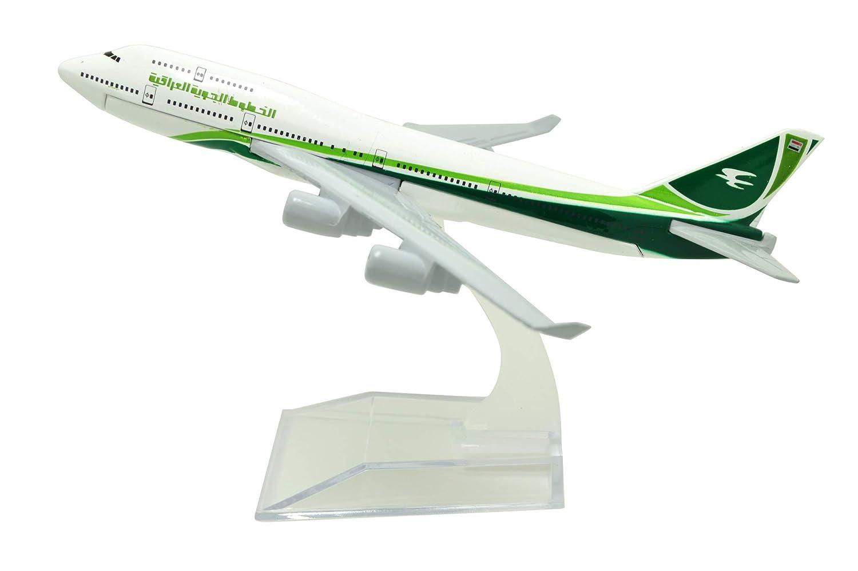 【福袋セール】 Tang-Dynasty(TM 1:400 16cm イラク航空路 16cm B747-400 B747-400 メタル飛行機モデル 飛行機玩具 飛行機モデル 飛行機モデル B07K3YXMDF, レイダース:054dbe3b --- wap.milksoft.com.br