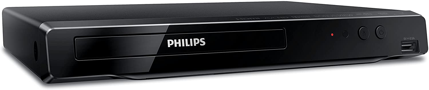 Philips BDP1502 Blu-Ray Disc / DVD Player with DVD Video upscaling to HD