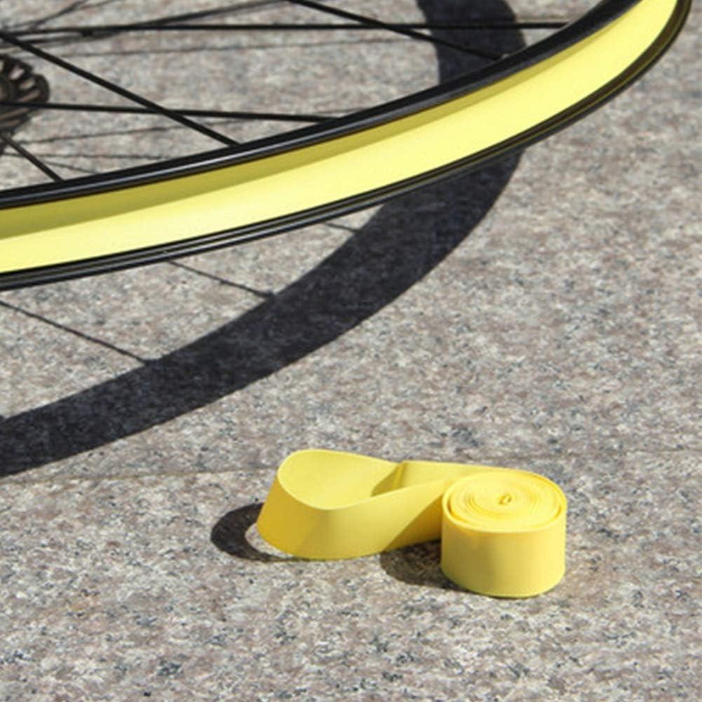Qixin Bike Tire Liner 2pcs Pad Rim Tape Anti Explosion Outdoor Ciclismo Bicicleta monta/ña PVC Prueba pinchazos Reemplazo Correa Protecci/ón Rueda Flexible Resistente al Desgaste El/ástico 26 20