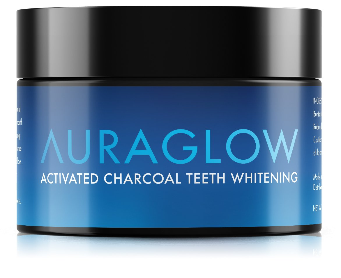 Amazon Com Auraglow Teeth Whitening Kit Led Light 35