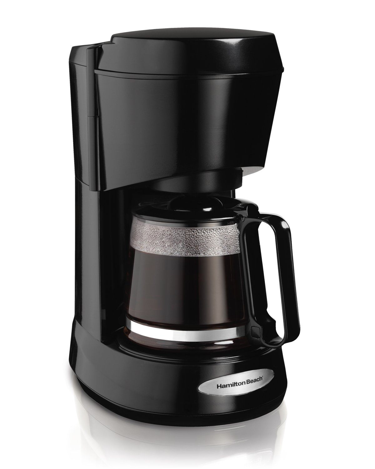 Hamilton Beach 5-Cup Switch Coffee Maker, Works with Smart Plugs, Compatible with Alexa, Google Home, Black (48136) by Hamilton Beach