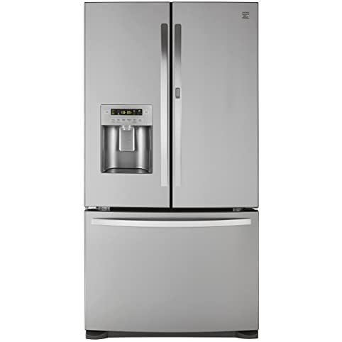 Amazoncom Kenmore 73065 266 cu ft French Door Bottom Freezer