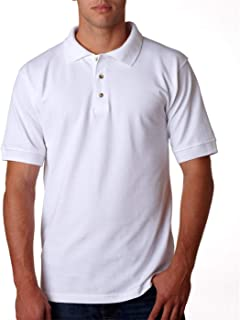 product image for Bayside Polo Shirt 1000 Solid Men's Cotton Pique