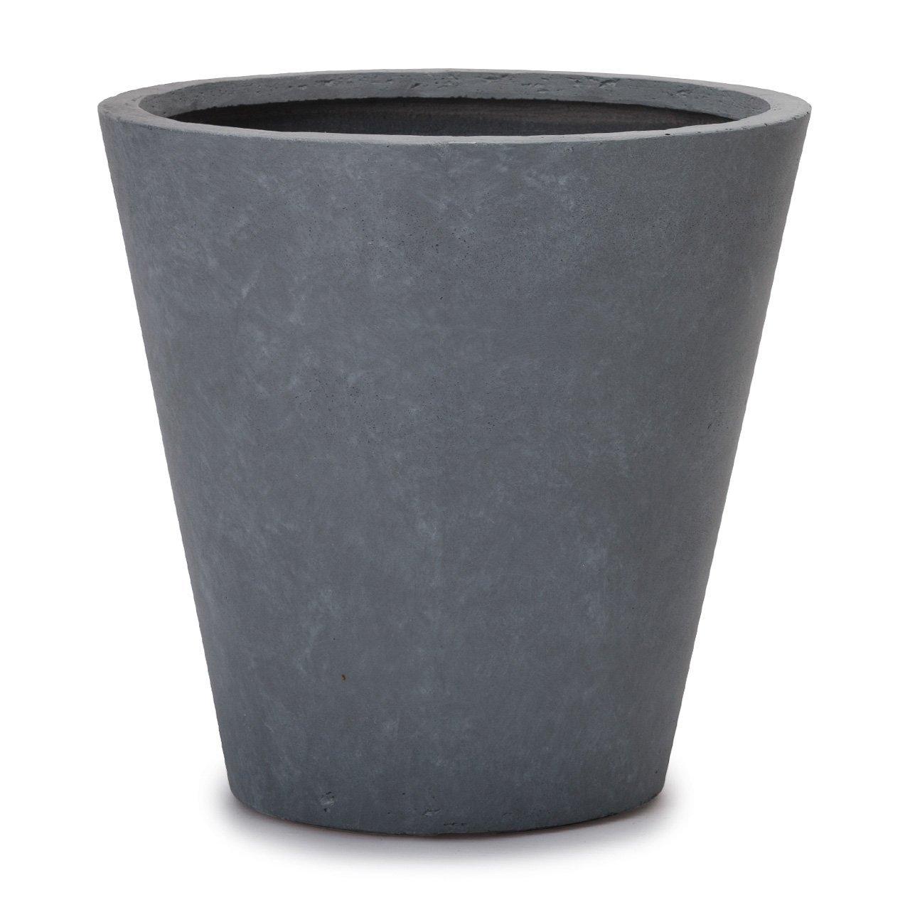 植木鉢 大型 ファイバークレイプロ イタ コニックプランター 50 グレー B01FCVRVXK 50|グレー グレー 50