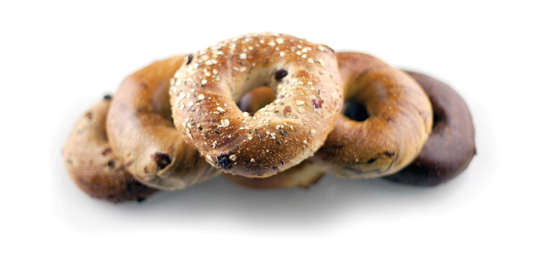 3 Dozen Hand Rolled New York City Bagels