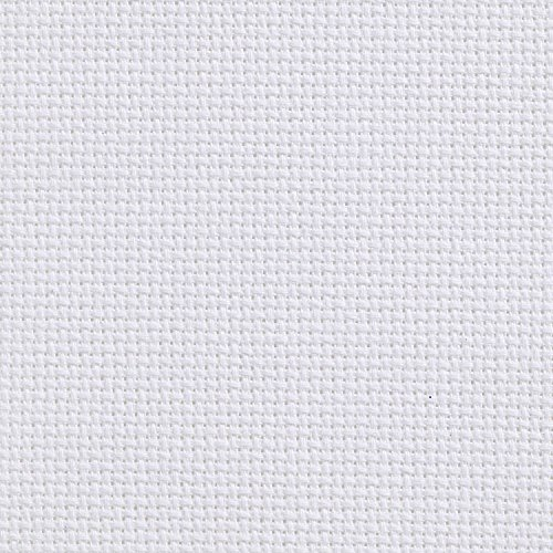 White 11 Count Cotton Aida Cloth 100cm x50cm/39.37