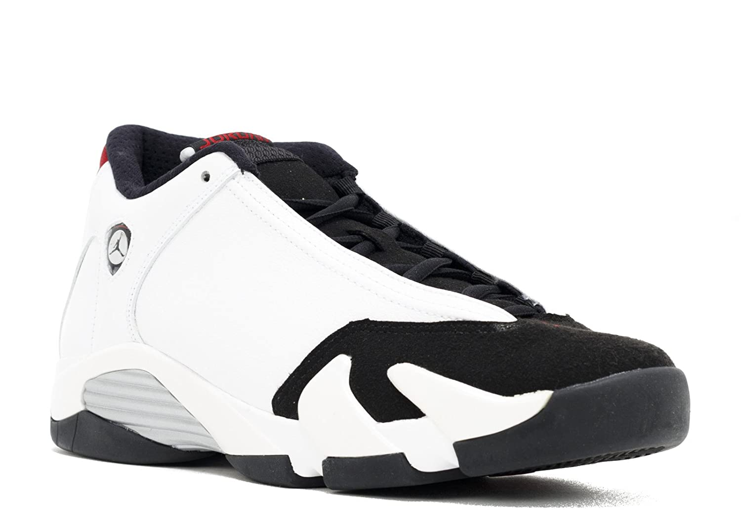 on sale 6b678 c6751 Jordan Air 14 Retro BG Big Kids Shoes White/Black-Varsity Red-Metallic  Silver 654963-102