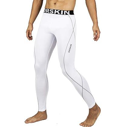 3e22dadc0bc1c DRSKIN Compression Cool Dry Sports Tights Pants Baselayer Running Leggings  Yoga Rashguard Men (M, DW05)