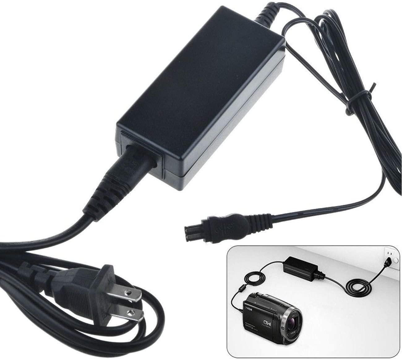 DCR-TRV125 DCR-TRV145 DCR-TRV147 Handycam Camcorder DCR-TRV118 AC Power Adapter Charger for Sony DCR-TRV116