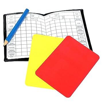 TOOGOO (R) - Cartera para árbitro de fútbol, color amarillo ...