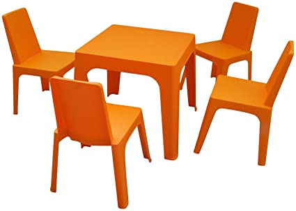 Amazon Com Barcelona Dd Julieta Kids Set Orange Home Kitchen