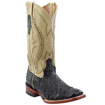 c0d7ac0f44c Amazon.com: Ferrini Women's Full Quill Ostrich Cowgirl Boot Wide ...