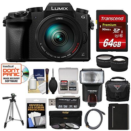 Panasonic Lumix DMC-G7 4K Wi-Fi Digital Camera & 14-140mm Le