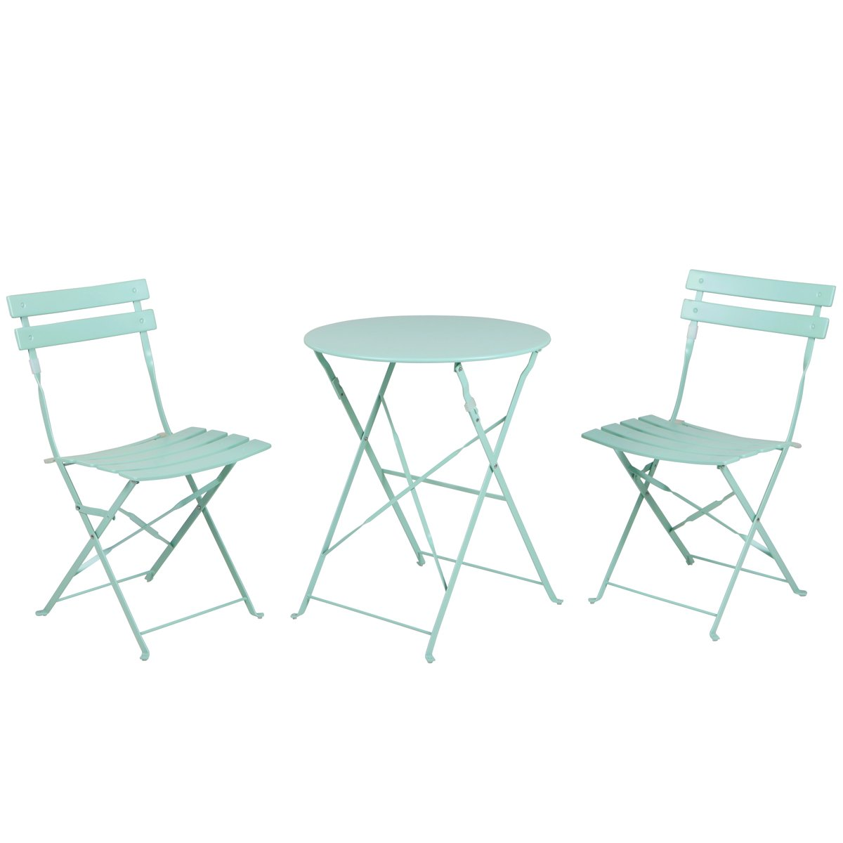 French Bistro set in Macaron Blue