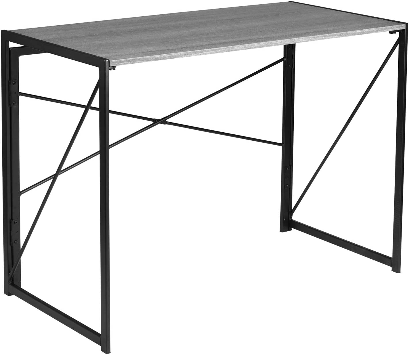 Folding Computer Laptop Desk Modern Writing Table Home Office