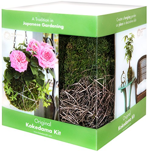 Super Moss 90430 6 Diameter Kokedama Kit, The Original