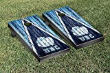 College Vault North Carolina UNC Tar Heels Regulation Cornhole Game Set Weathered Triangle Version