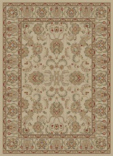 "Concord Global Trading Adana Oushak Ivory Rug Rug Size: 6'7"" x 9'6"" from Concord Global Trading"