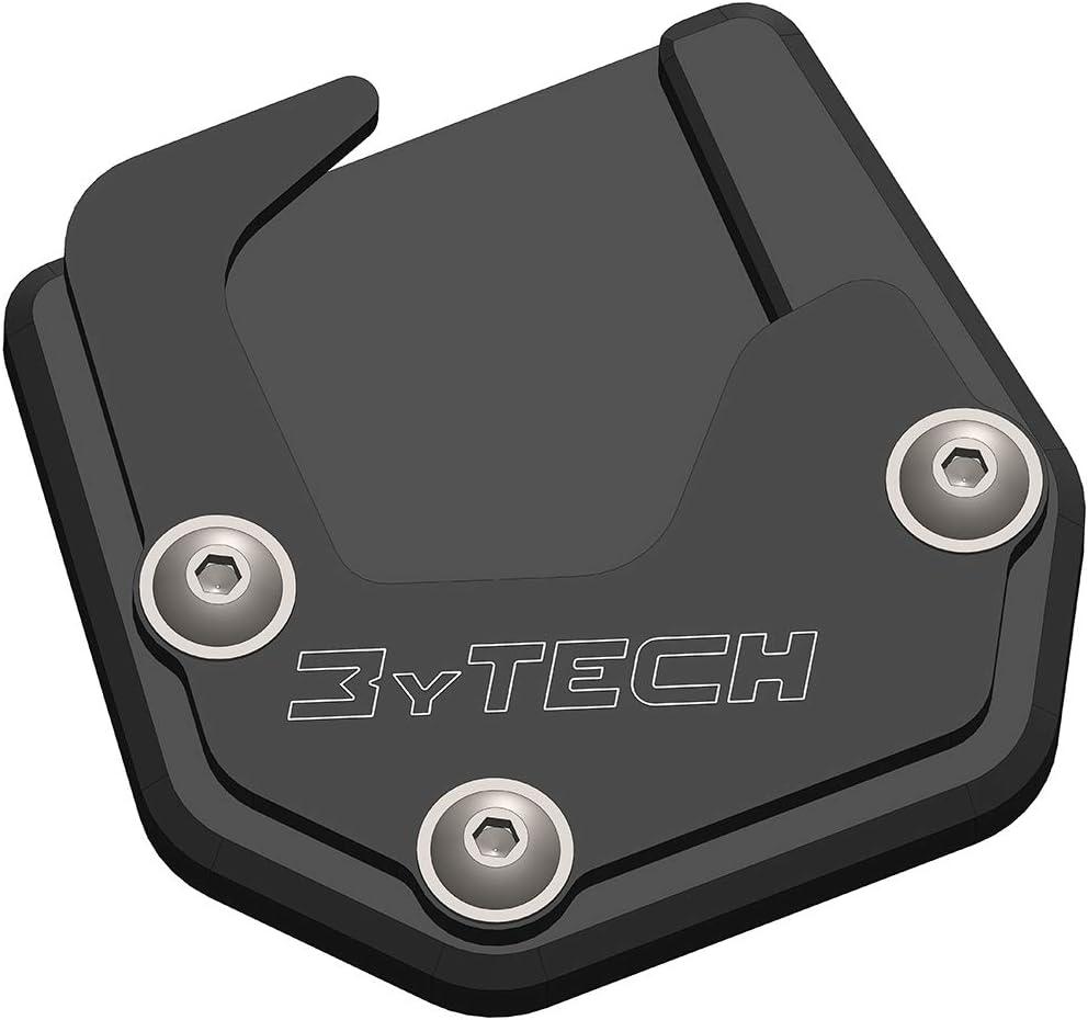 Mytech Seitenständerverbreiterung Auflagevergrößerung Aus Eloxiertem Hochfestem Aluminium Motoguzzi V85 Tt Ab 2020 Schwarz Auto