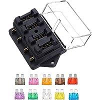 JZK 12V 24V 32V Caja de fusibles 4