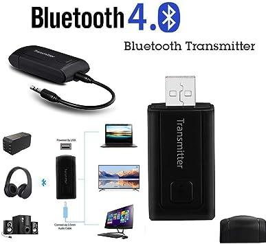 Jkfine - BT450 Y1X2 Adaptador Bluetooth para TV / Teléfono, Transmisor Receptor Bluetooth, Adaptador de Audio Estéreo Inalámbrico: Amazon.es: Electrónica