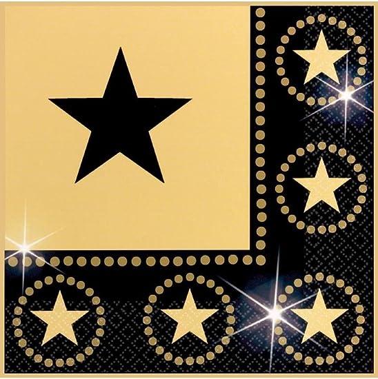 Star Attraction Luncheon Napkins – 16 Per Unit
