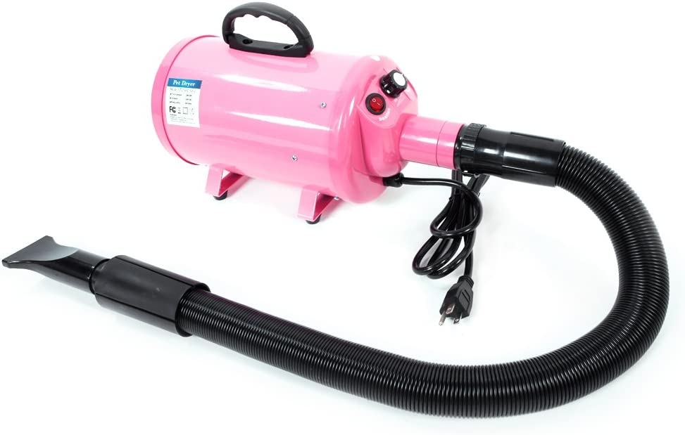 Portable Pet Hair Dryer Quick Blower Heater w// 3 Tuyeres Dog Cat Grooming 4Color