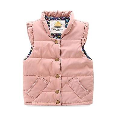 82406939377e Amazon.com  Mud Kingdom Little Girls Vests Outerwear Lightweight ...