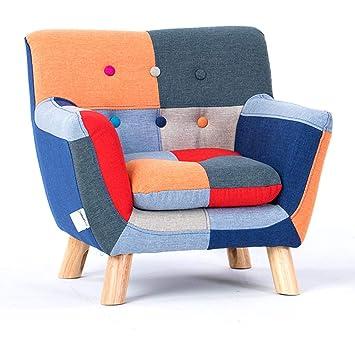 LRSFM Sofá reclinable para niños con apoyabrazos y Respaldo ...