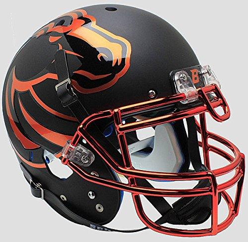 Boise State Broncos Authentic College XP Football Helmet Schutt Halloween - NCAA Licensed - Boise State Broncos (Boise State Football Halloween Helmet)