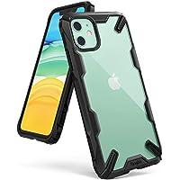 Ringke Coque Compatible avec iPhone 11, [Fusion-X] Antichoc de Protection [Militaire Défense Testée] Résistant aux Rayures PC Solide Rigide TPU Bumper pour Coque iPhone 11 - Noir (Black)