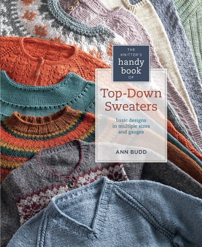 Knitter's Hn Bk Top-Down Sweaters (Knitters Handy Book) by Budd. Ann ( 2012 ) Hardcover-spiral Handy Book Truck