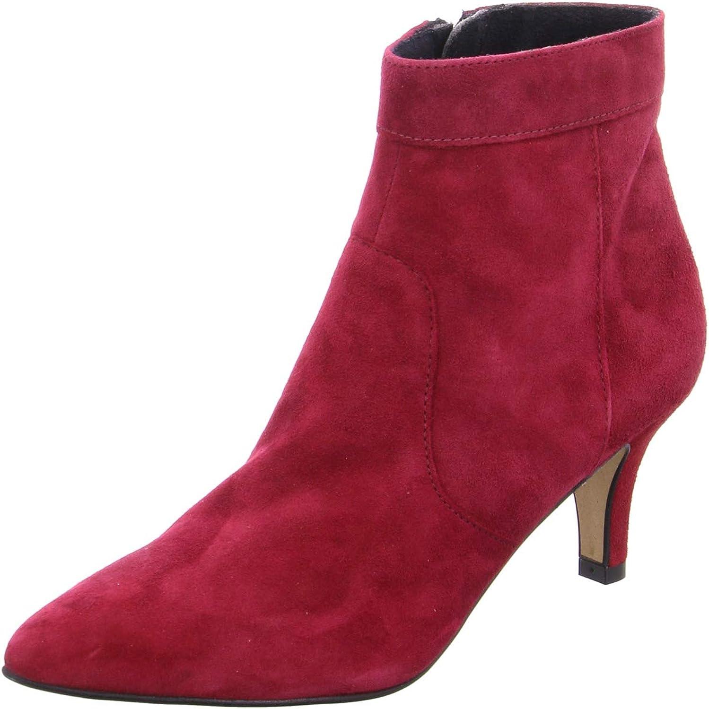 Tamaris 25021-21, Botines Femme Rouge Merlot 537