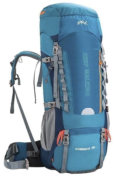 waterfly (60/70L resistente al agua senderismo Mochila Mochila Mochilas profesional Montañismo Senderismo camping