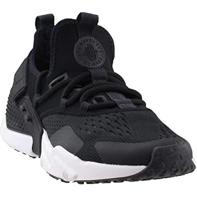 8b30270cef4 Nike Mens Air Huarache Drift Running Shoes Black Anthracite White  AO1133-002 Size